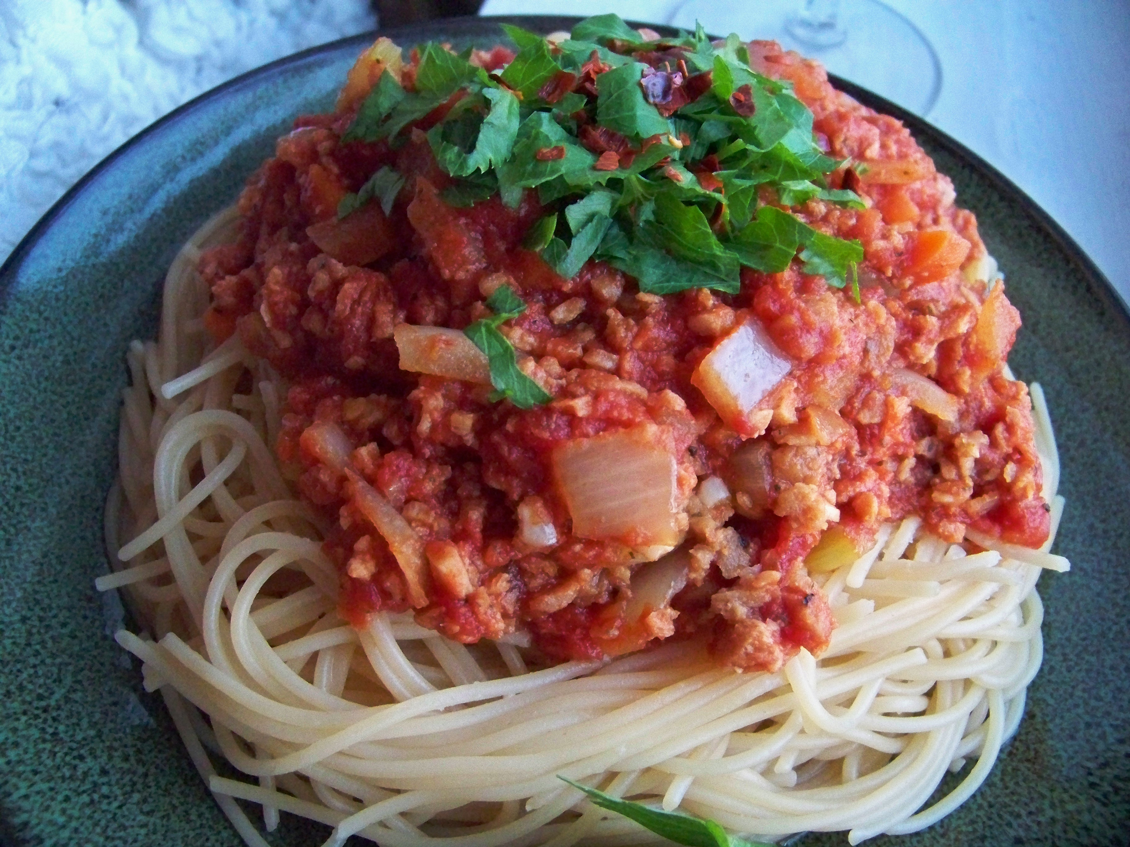 how to cook tvp spaghetti sauce